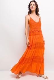 INFINITIF PARIS robe longue avec crochet