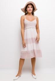 INFINITIF PARIS kjole med blonder