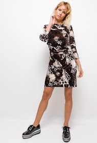 INFINITIF PARIS velvet dress