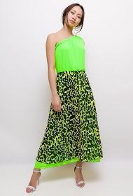 INFINITIF PARIS leopard long dress