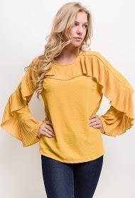 JASMINAH PARIS ruffled blouse