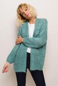 JASMINAH PARIS vest with lurex
