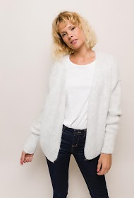 JASMINAH PARIS wool blend vest