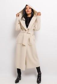 JASMINAH PARIS long vest with belt