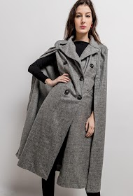 JASMINAH PARIS manteau cape