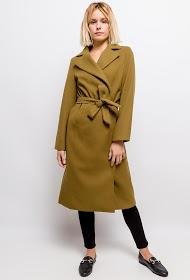 JASMINAH PARIS casaco com cinto