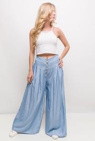 JASMINAH PARIS buttoned fluid pants