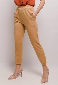 JASMINAH PARIS calças elásticas