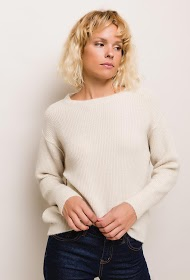 JASMINAH PARIS soft ribbed sweater