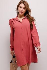 JASMINAH PARIS vestido de camisa