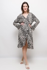 JASMINAH PARIS leopard dress