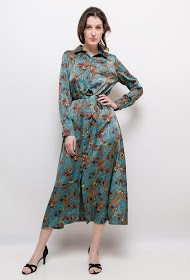 JASMINAH PARIS printed long dress