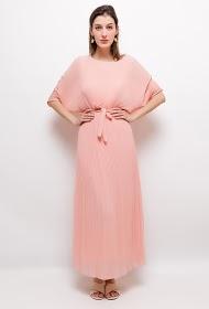 JASMINAH PARIS robe longue plissée