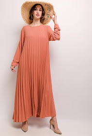 JASMINAH PARIS lange geplooide jurk