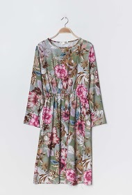 JASMINAH PARIS floral midi dress