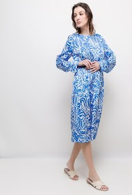 JASMINAH PARIS printed midi dress