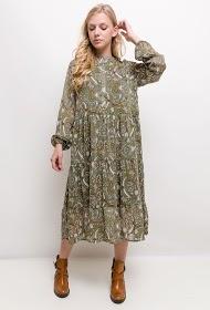JASMINAH PARIS printed midi dress