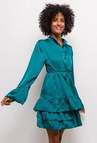 JASMINAH PARIS satijnen jurk