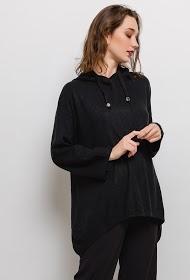 JASMINAH PARIS los mesh sweatshirt