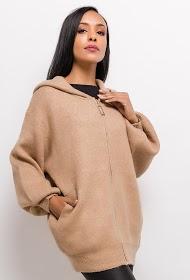 JASMINAH PARIS casaco de malha