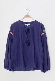 JAUNE ROUGE bohemian blouse