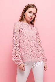 JAUNE ROUGE lace blouse