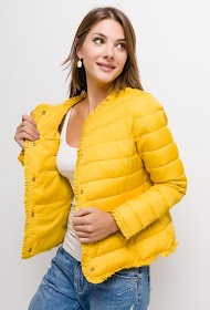 JAUNE ROUGE quilted down jacket