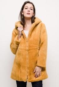 JAUNE ROUGE pelsfrakke