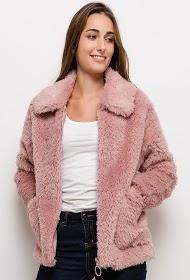 JAUNE ROUGE fur coat