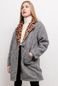 JAUNE ROUGE cappotto reversibile