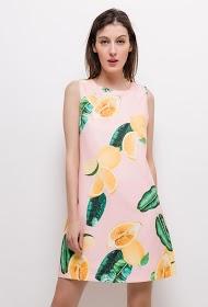 JAUNE ROUGE lemon dress