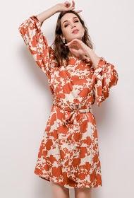JAUNE ROUGE flowery dress