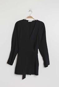 JCL PARIS wrap blouse