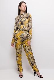 JCL PARIS python print shirt