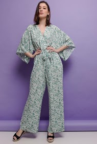 JCL PARIS tropisk jumpsuit