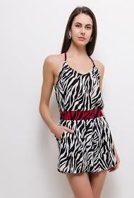 JCL PARIS zebra print set