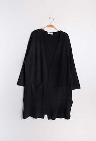 JCL PARIS long vest with pockets