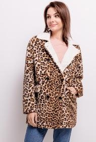 JCL PARIS casaco de leopardo