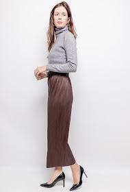 JCL PARIS pleated pants