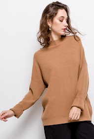 JCL PARIS relaxed loose fit sweater