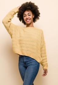 JCL PARIS dulce suéter con lurex