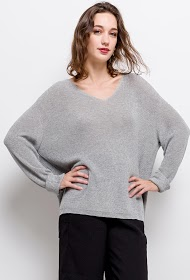 JCL PARIS iridescent sweater