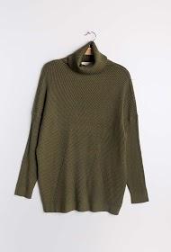 JCL PARIS long turtleneck sweater