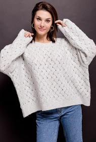 JCL PARIS twisted sweater