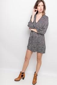 JCL PARIS polka dot dress