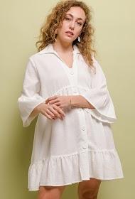 JCL PARIS loose buttoned dress