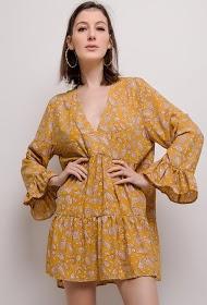 JCL PARIS printed loose dress