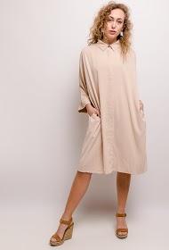 JCL PARIS loose shirt dress
