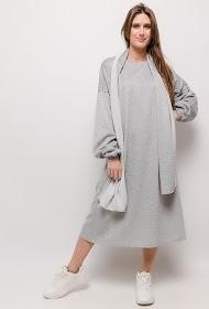 JCL PARIS fleece dress