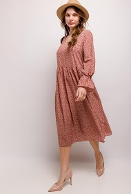 JCL PARIS robe imprimée